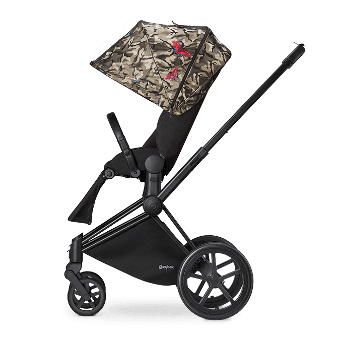 Прогулочная коляска Cybex Priam Lux Seat Butterfly